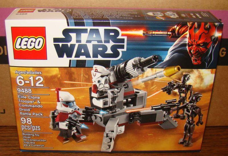 Lego Star Clone Wars 9488 Elite Clone Trooper No box NEW sealed bags