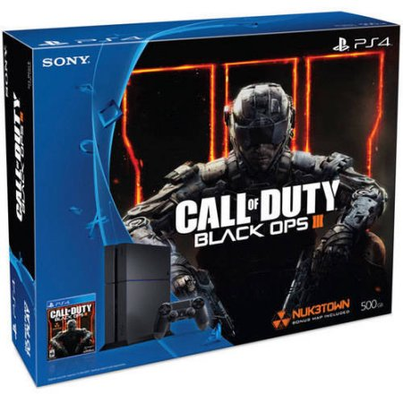 Playstation 4 500gb Console Bundle With Call Of Duty Black Ops Iii